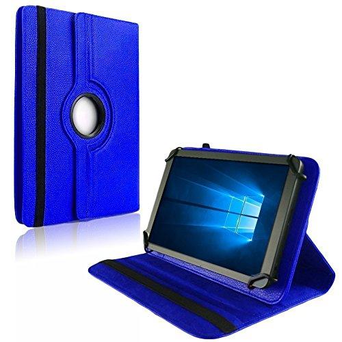 NAUC Tablet Hülle für XORO TelePAD 96A3 Tasche Schutzhülle Hülle Schutz Cover Bag Etui, Farben:Blau