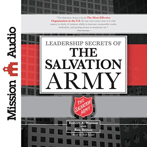 Leadership Secrets of the Salvation Army audiobook cover art