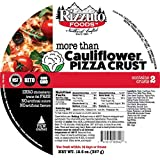 Rizzuto 10' More Than Cauliflower Pizza Crust - 4 Crusts - Gluten Free, Low Carb