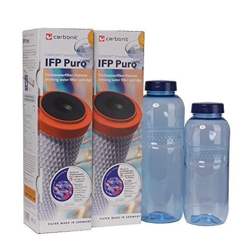 Sanquell GmbH IFP-Puro Carbonit Paket 21 - GRATIS: 2 TRITAN-Flaschen - frei von Bisphenol-A