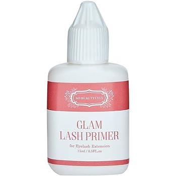 Eyelash Extension Glam Lash Primer 15 ml/Pre-Treatment for Semi Permanent Eyelash/Easily Removes Proteins and Oils/Oil Free/Longer Extension Retention