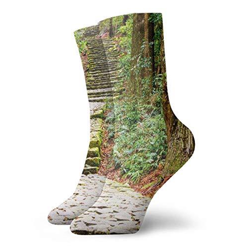 World Heritage Site Unisex-Socken, atmungsaktiv, kurz, Knöchelsocken, Sportsocken und Freizeitgebrauch