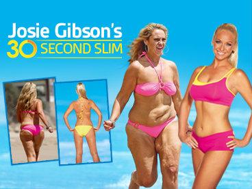 josie Gibson fogyás dvd