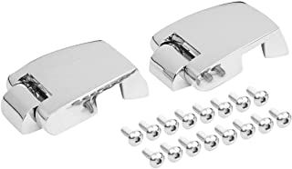 Chrome Premium Tour Pak Truck Hinges For Harley Touring Road Electra Glide 88-13