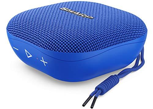 Sharp GX-BT60(BL) Altavoz Bluetooth portátil 6W, True Wireless Stereo, hasta