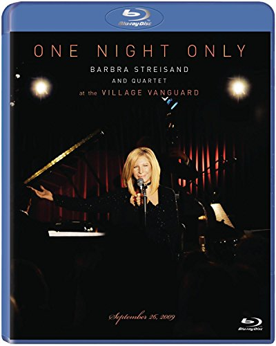 One Night Only Barbra Streisand and Quartet at The Village Vanguard September 26, 2009 [Blu-Ray]