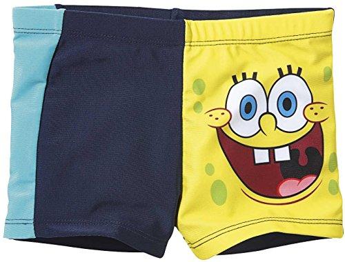 Golden Lutz Spongebob Jungen Badehose (Gr. 98/104)
