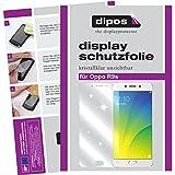 dipos I 2X Schutzfolie klar kompatibel mit Oppo R9s Folie Bildschirmschutzfolie