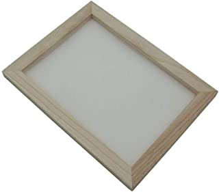 19x25cm Wooden Paper Making Papermaking Mould Frame Screen Tools for DIY Paper Craft