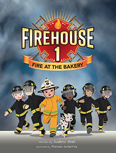Firehouse 1: Fire at the Bakery (English Edition)