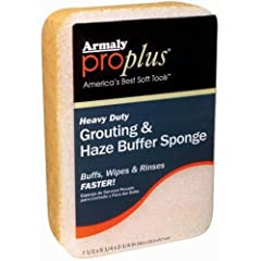 Provides quick, hassle-free cleaning Sanded grouting with a haze buffer Ideal choice for most projects Package dimensions : 2.3 inches (H) x 7.5 inches (L) x 5.3 inches (W)