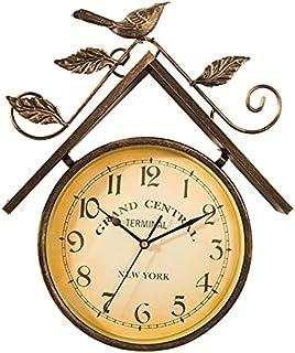 GJHK Horloge Murale Murale, Décoration Murale, Décorations Murales, Décorations D'horloge Murale (41 * 35 * 5Cm)