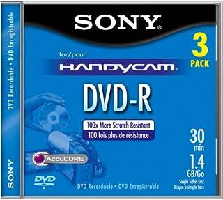 Sony 8cm DVD-R with Hangtab (3 Pack)