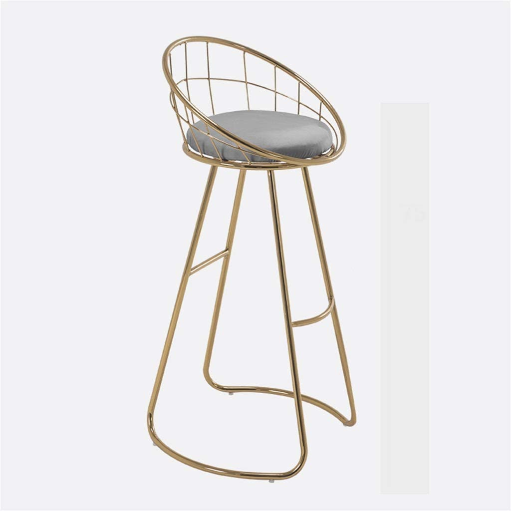 WANGFENG Department store Home Bar Furniture Stool Art Iron Chai Barstools Dining Max 47% OFF