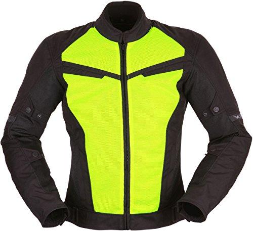Modeka X-Vent Motorradjacke Schwarz/Neon L