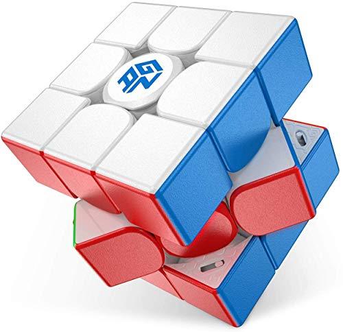 CuberShop GAN 11 M PRO Frosted Stickerless, Best 3X3 Stickerless...