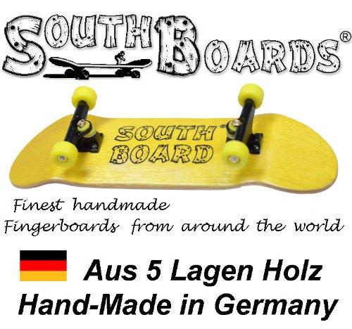 Unbekannt Komplett Fingerskateboard GE/SWZ/GE SOUTHBOARDS® Handmade Wood Fingerboard Echtholz
