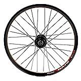 GJZhuan Bicicleta Delantera Rueda Trasera Juego de Ruedas BMX Juego de Ruedas 100/135mm V Freno/Disco de Freno 32 Agujeros de Liberación Rápida Velocidad 8/9 (Size : Wheel Set)