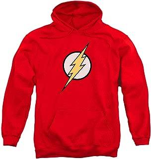 The Flash Pull-Over Hoodie Sweatshirt & Stickers