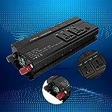 Caricabatterie per auto Pura onda sinusoidale pura Inverte, inverter di potenza per auto, con 4 interfacce USB con display LCD 4000W DC 12V a AC 220V Uso multifunzione per auto