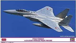 ハセガワ 1/72 航空自衛隊 F-15J イーグル w/J.A.S.D.F.女性パイロットフィギュア プラモデル 02325