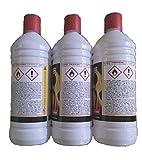 Amafino Bioethanol 3 Liter Ethanol 3 * 1L