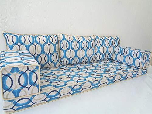 Modern floor seating,Arabic floor sofa,Arabic couch,Floor seating sofa,Oriental seating,Arabic majlis,jalsa - MA 105