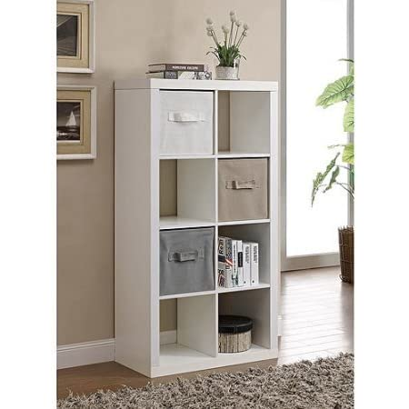 Better Homes and Gardens 8-Cube Organizer - White