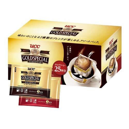 UCC ゴールドスペシャル ドリップコーヒーアソートパック 25P(スペシャル13P・リッチ12P)