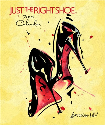 Just the Right Shoe 2010 D (Desk Diary)