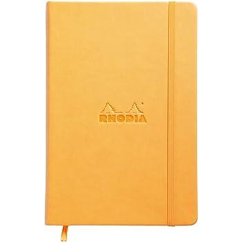 ロディア ノート WEBNOTEBOOK A5 ドット罫 オレンジ cf118768