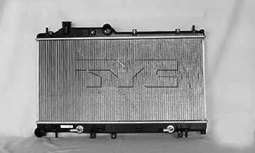 KarParts360: Fits 2005 2006 2007 2008 2009 Subaru Legacy New Aluminum Radiator Replaces 45111AG02A- (Vehicle Trim: 2.5L H4 2458cc; Turbocharged; w/Automatic Trans.)