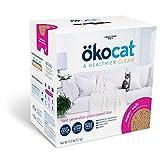 ökocat Super-Soft Natural Wood Clumping Cat Litter with Odor...