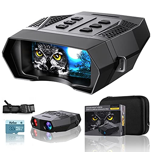 HD Infrared Digital Night Vision Goggles - 1312ft/400M...