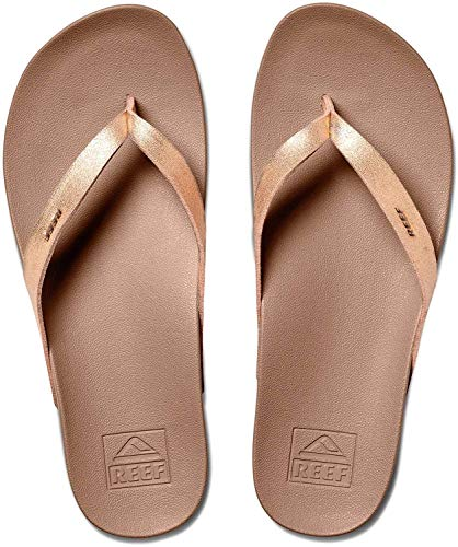 Reef Damen Cushion Bounce Court Flipflop, Rose Gold, 40 EU