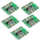 CHENBO(TM 5PCS PAM8403 Module Super Mini Digital Amplifier Board 2 3W Class D 2.5V to 5V USB Power Supply