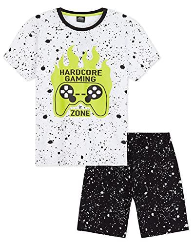 CityComfort Pijama Niño, Pijamas Niños Cortos de Videojuegos, Conjunto Camiseta y Pantalon...