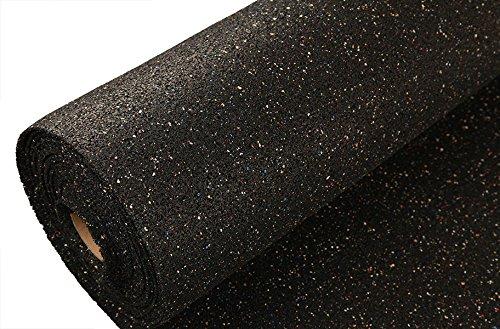 IncStores Pre-Cut 100 Square Foot Rubber Underlayment Rolls for Hardwoods, LVT, Laminate &...
