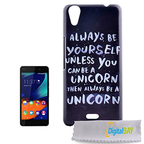 Digital Bay Srl Custodia Cover Back Case plastica pc Alta qualita' per Wiko Raimbow Up