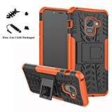 LiuShan Galaxy A5 2018 / A8 2018 / A530 Coque, Shockproof Robuste Impact Armure Hybride Béquille...
