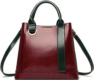 MIMITU Damentasche Leder Damen Handtaschen Mode Große Kapazität Damen Umhängetasche Designer Luxus Weibliche Umhängetasche