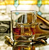 KolbergGlas The Ultimate Gift idea Whiskey Glass with Real 308 cal. Bullet. Ideal Present For Best Man/Dad