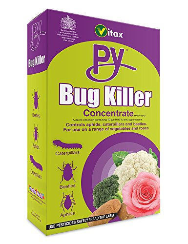 Vitax Py Bug Killer Concentrate Garden Spray, 250 ml