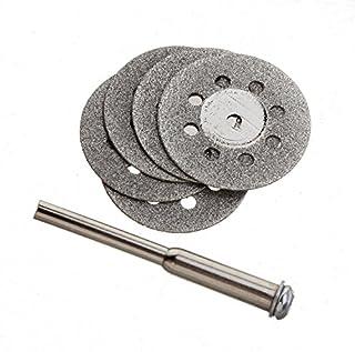 10 piezas 22 mm + 2 discos de corte de diamante fentolamina para Dremel