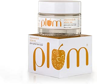 Plum Chamomile and White Tea Glow Getter Face Mask, 60ml