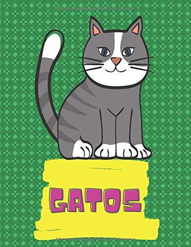 Gatos: Libro de colorear para niños - Más de 50 fantásticos dibujos de gatos para niños a los que les gusta colorear