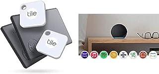 $100 » Tile Mate + Slim (2020) 4-Pack (2 Mates, 2 Slims) - Bluetooth Tracker, Item Locator & Finder for Keys, Bags, Wallets, Tabl...