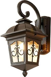 LED lámpara de pared moderna Estilo americano Retro europeo simple moderno exterior impermeable lámpara de pared sala de estar pasillo pasillo pasillo jardín patio
