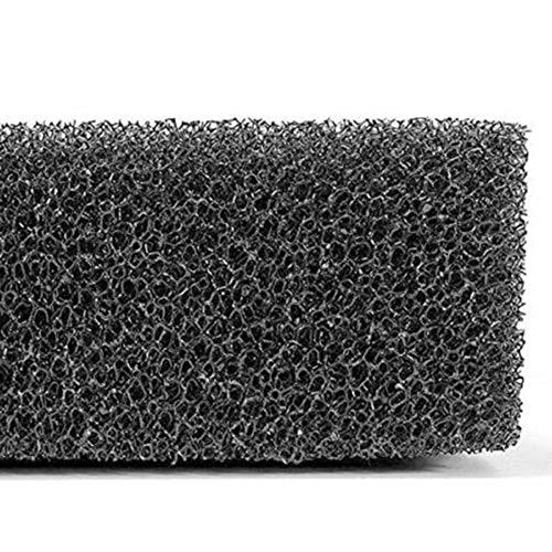 Colectsound Esponja de Filtro de Acuario de Espuma Negra para Estanque de pecera, prefiltro, Filtro bioquímico, Fundas de Almohadilla de filtración