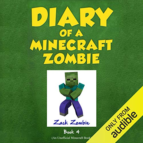 Diary of a Minecraft Zombie, Book 4: Zombie Swap audiobook cover art